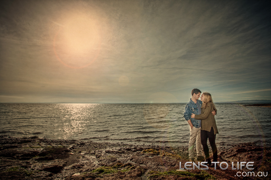phillip island engagement photos