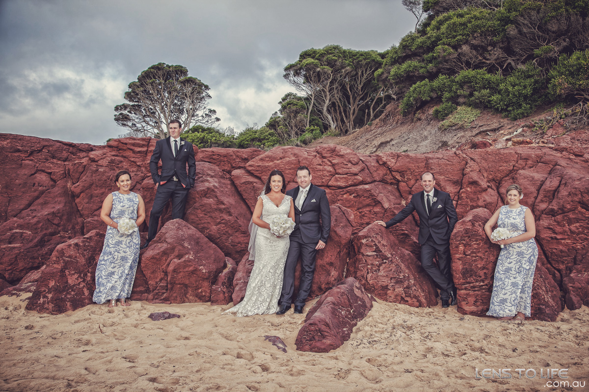 phillip island wedding photography