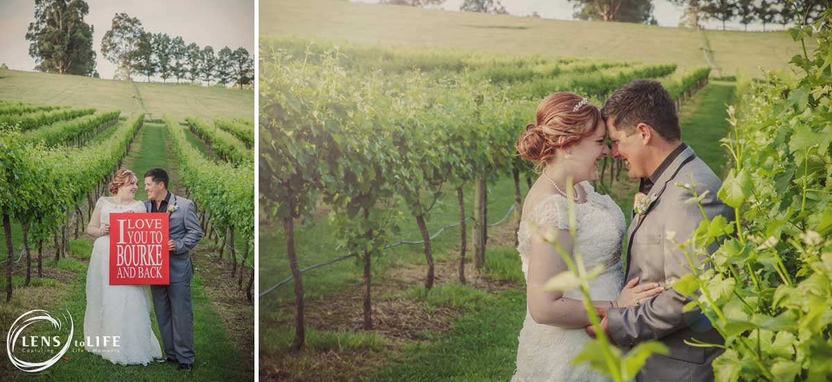 Newberg wineries wedding