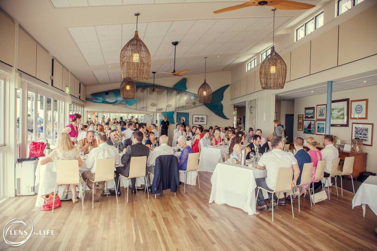 sorrento sailing club wedding