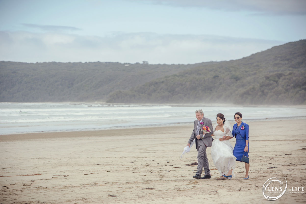 waratah bay wedding