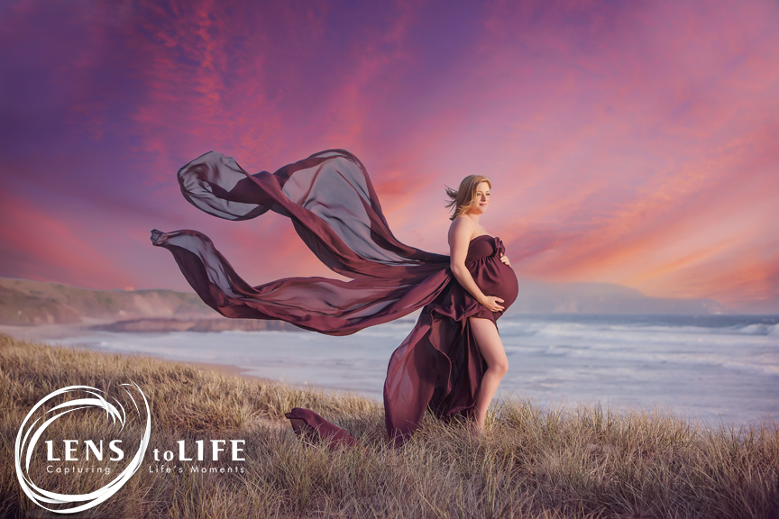 phillip island maternity session