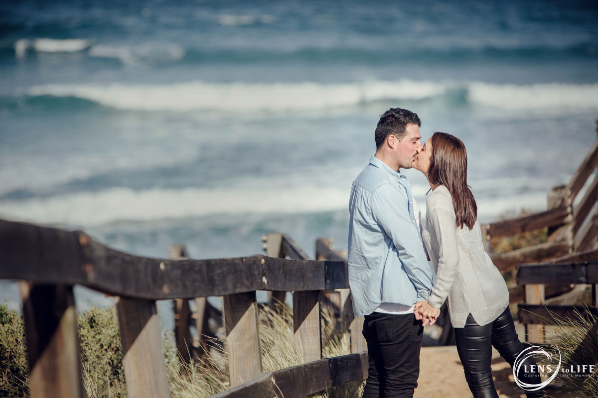 engagement photography gippsland