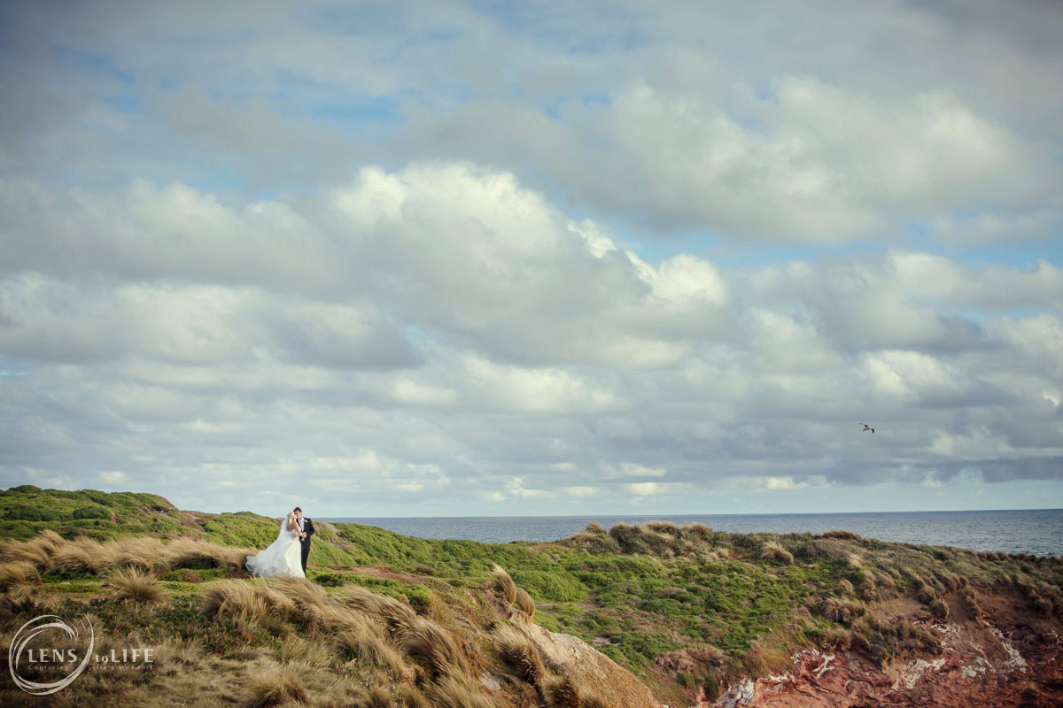 phillip island wedding