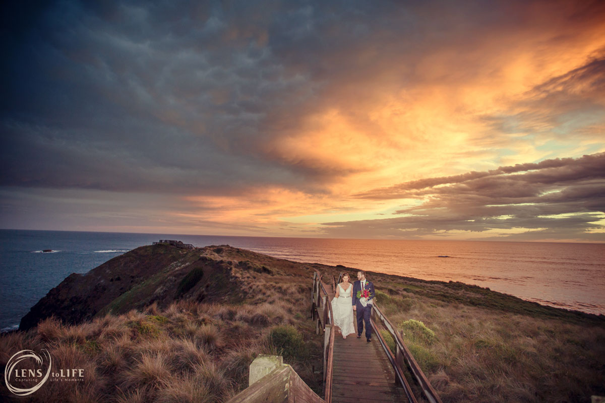 phillip island beach wedding