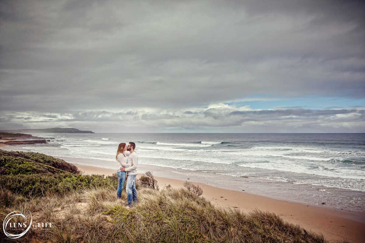 engagement photos phillip island